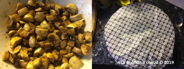 haché parmentier végétal et charlotte zéro déchet